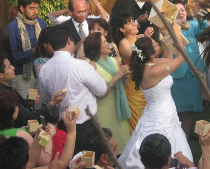 Suelta de mariposas en bodas de sistemasecologicos.com