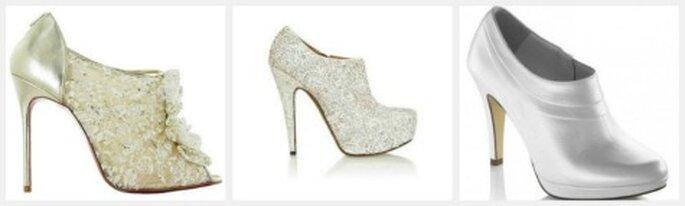 Zapatos para novia estilo botín: Louboutin, Alaïa y Fosco