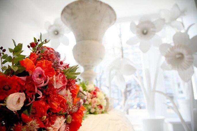 Un des bouquets de la boutique - Photo : Thierry Boutemy