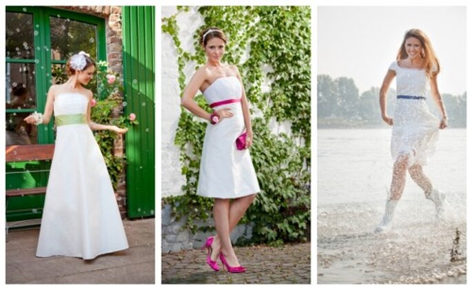Die noni Brautkleider helene, hilde und lena - Foto: noni