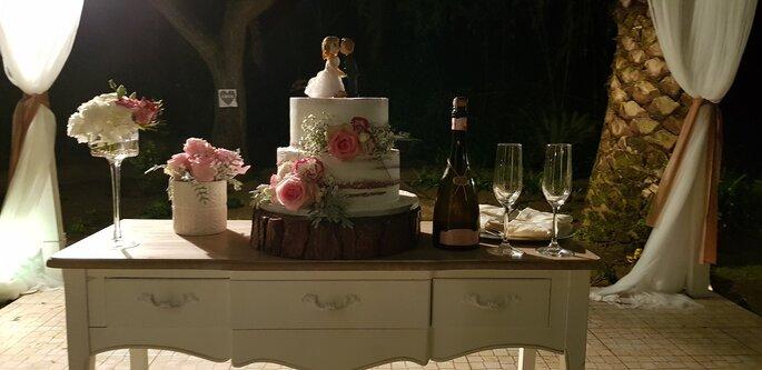 bolo da noiva