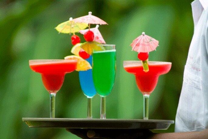Jouer la carte de l'originalité et créer une bonne ambiance au cocktail