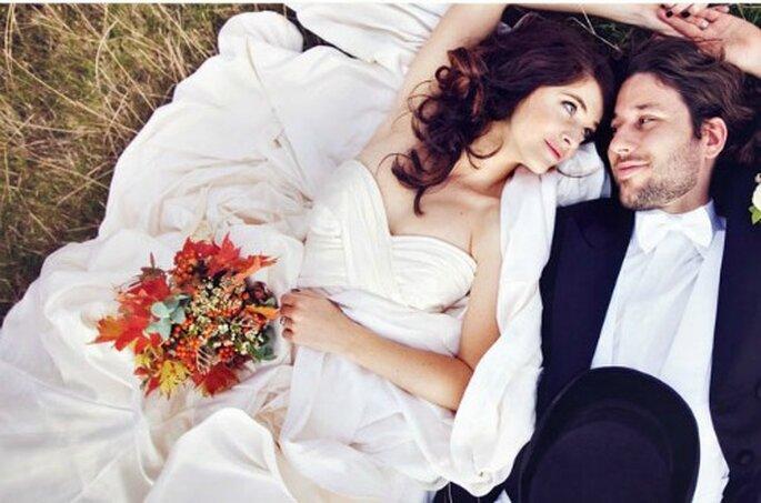 Flores por doquier en tu boda - Fotos: Green Wedding Shoes