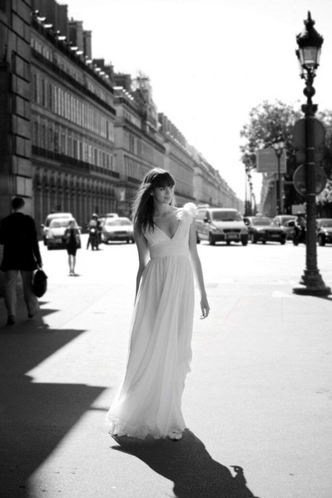 Vestido de novia corte imperio, Cymbeline 2012