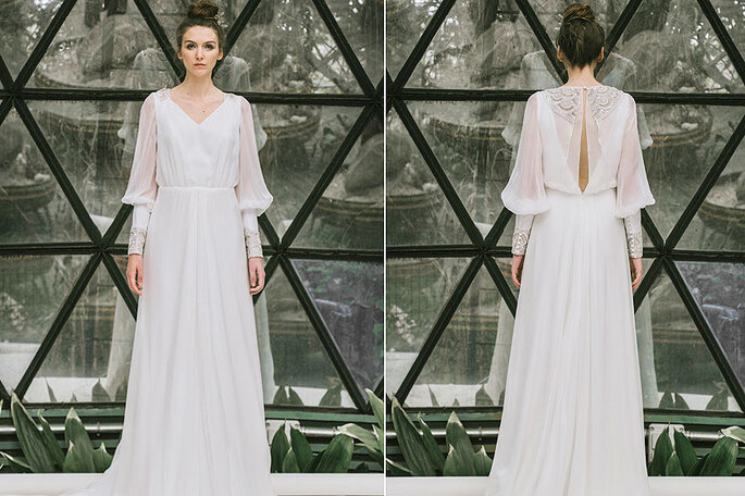 vestidos de novia de manga larga