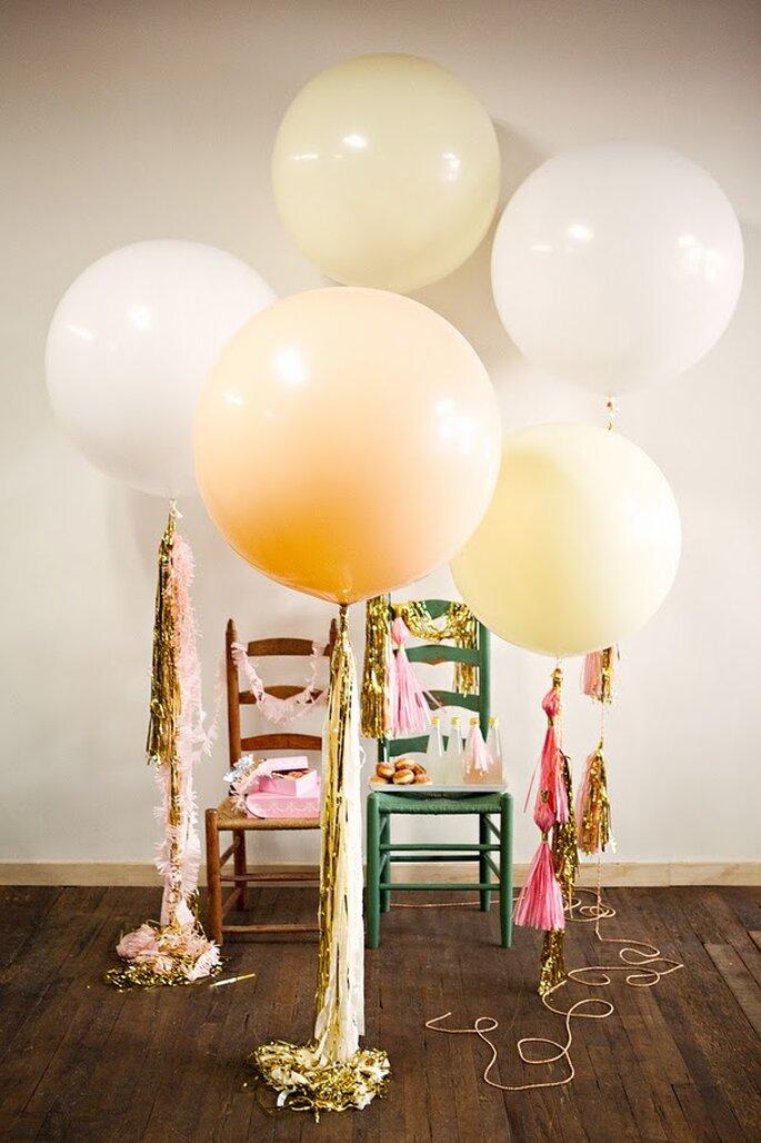 Decoración de boda con globos - Foto Geronimo