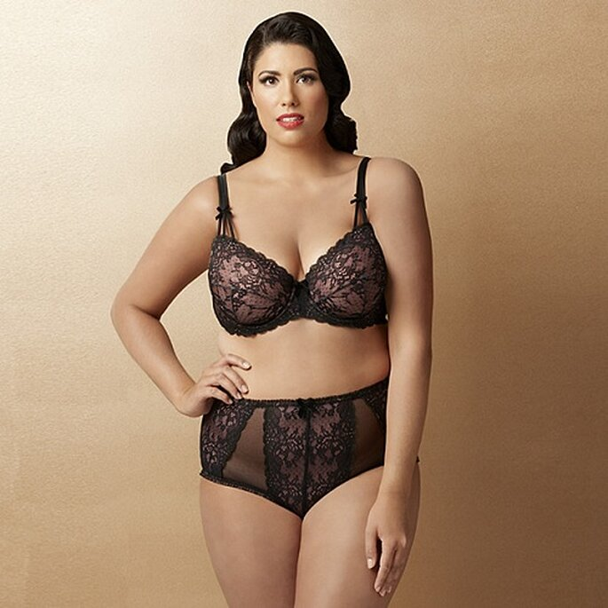 Dita ha pensado en potenciar las curvas de la mujer con su colección de lencería. Foto: Target.