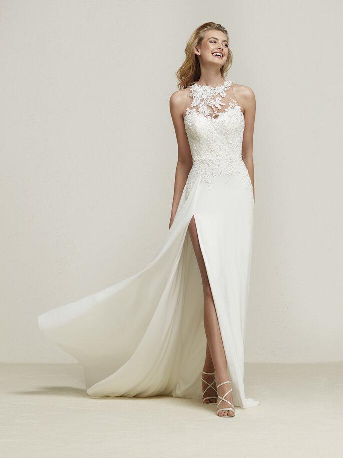 Significado del vestido de novia beige