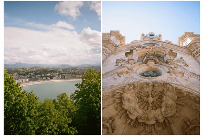 Real Wedding: Una mágica boda en San Sebastián, España