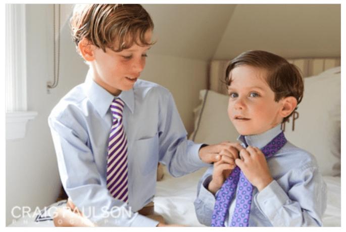Fórmulas para disfrutar a los invitados más pequeños en tu boda - Foto Craig Paulson Photography