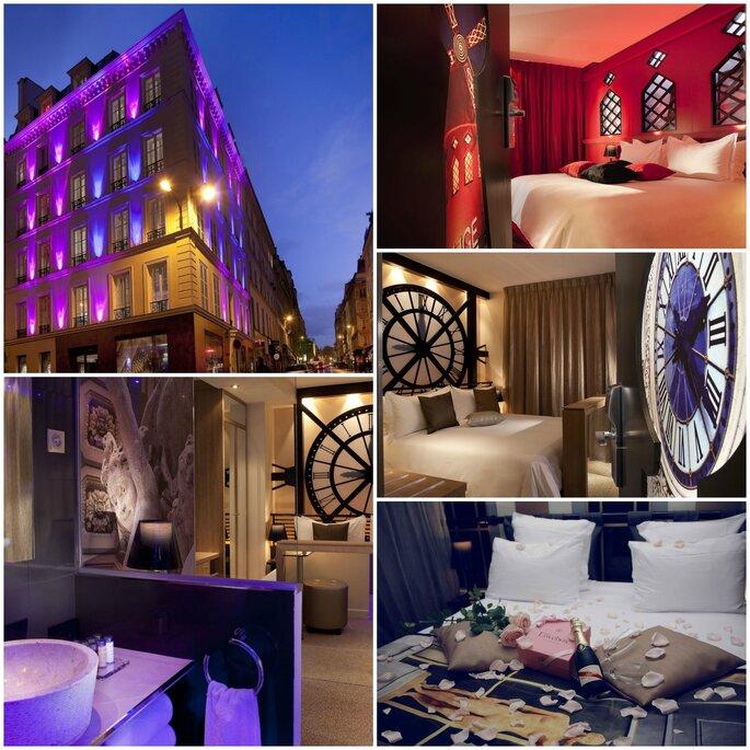 10 h tels paris pour la plus merveilleuse des soir es de mariage et des nuits de noces. Black Bedroom Furniture Sets. Home Design Ideas