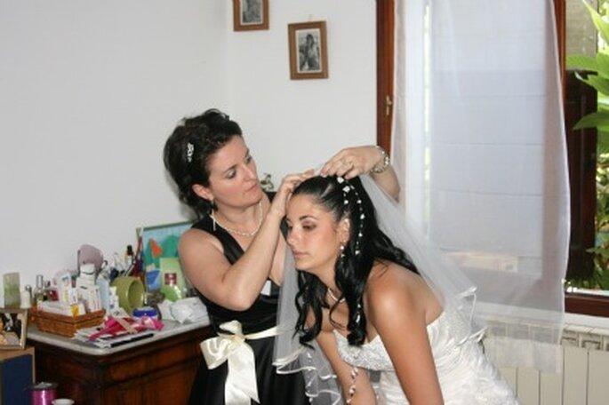 Coiffure de la mariée - Decore-ta-table.com