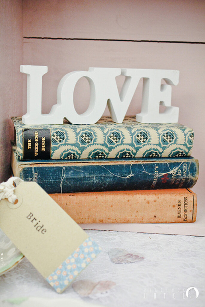 "Cartel de ""Love"" vintage. Foto: Keith Bloomfield"