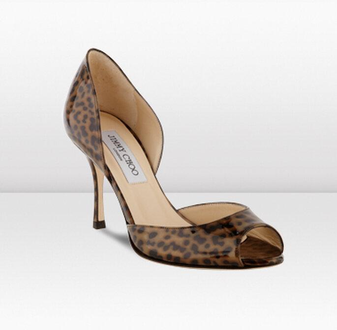 "Zapatos ""animal print"" de Jimmy Choo 2012"