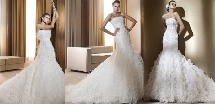 Vestidos de novia de la colección Sueños de Pronovias