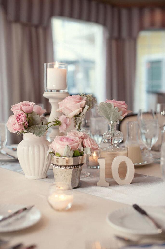 Detalles para una boda shabby chic - Robert & Kathleen Photographers