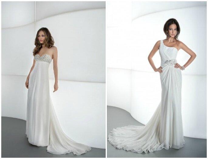 La semplicità conquista sempre. Demetrios 2013 Bridal Collection. Foto: www.demetriosbride.com