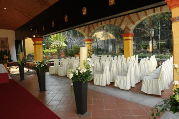 Montaje y decoración para tu ceremonia civil - Grupo Montblanc