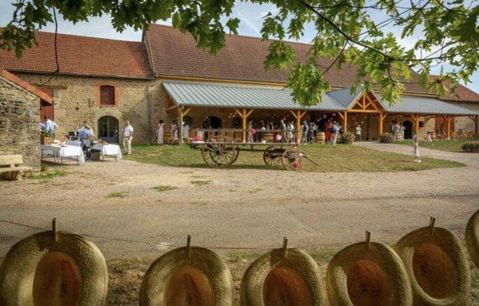 Domaine du Grand Nanteux - une photo du Domaine du Grand Nanteux sur laquelle le caractère champêtre des lieux transparait