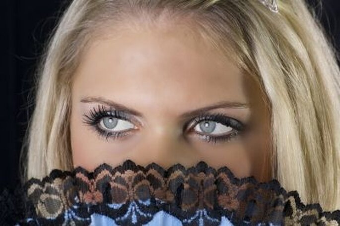 Geschminkte Augen - Foto: © Dieter Huemmer  / pixelio.de