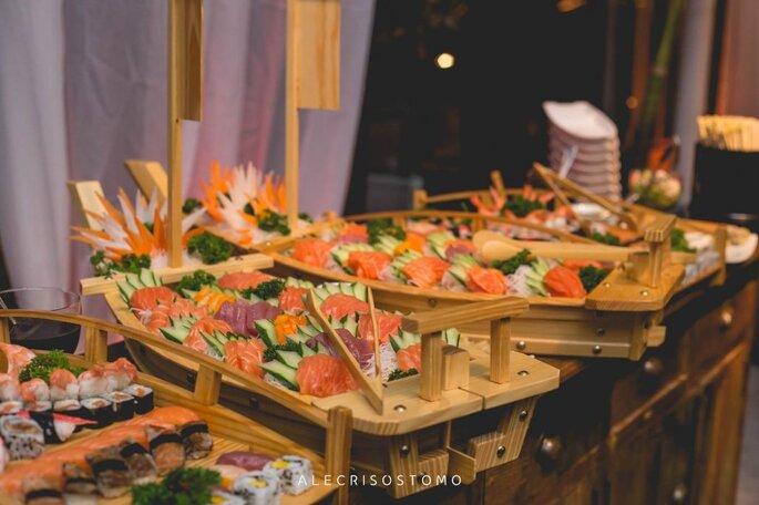 Buffet eventos comida japonesa