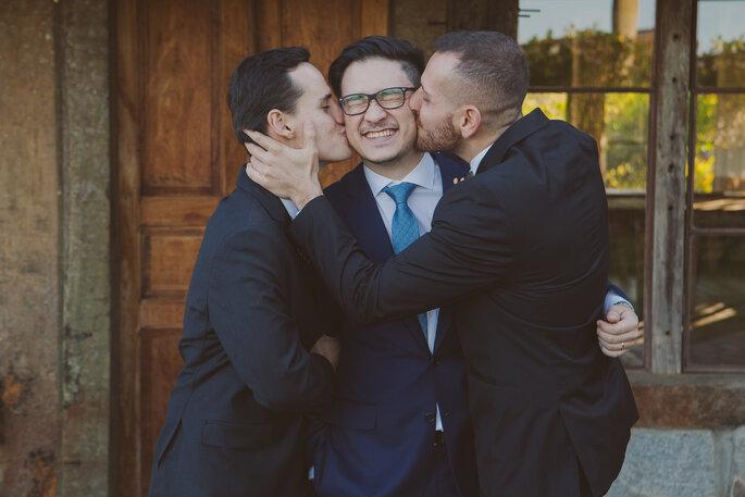 Beijo padrinhos