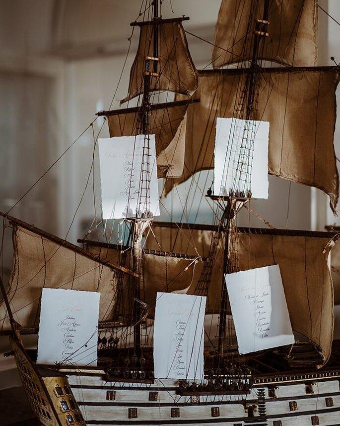 seating plan num navio conceito nautico