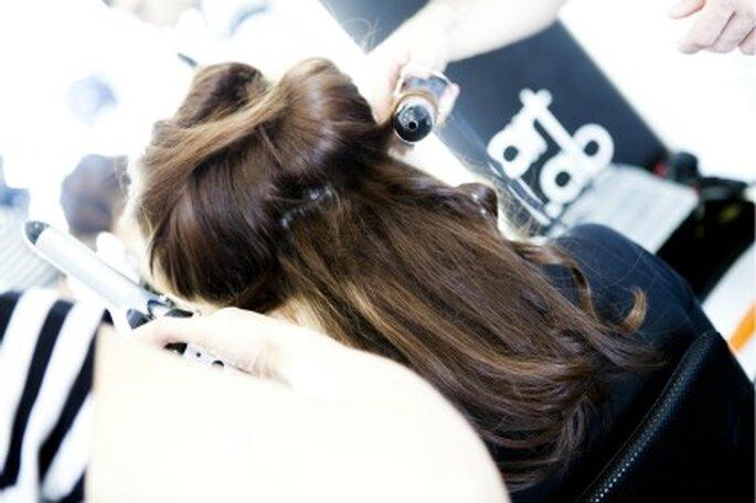 La peluquería de Madrid Novias 2011 corrió a cargo de Art Lab