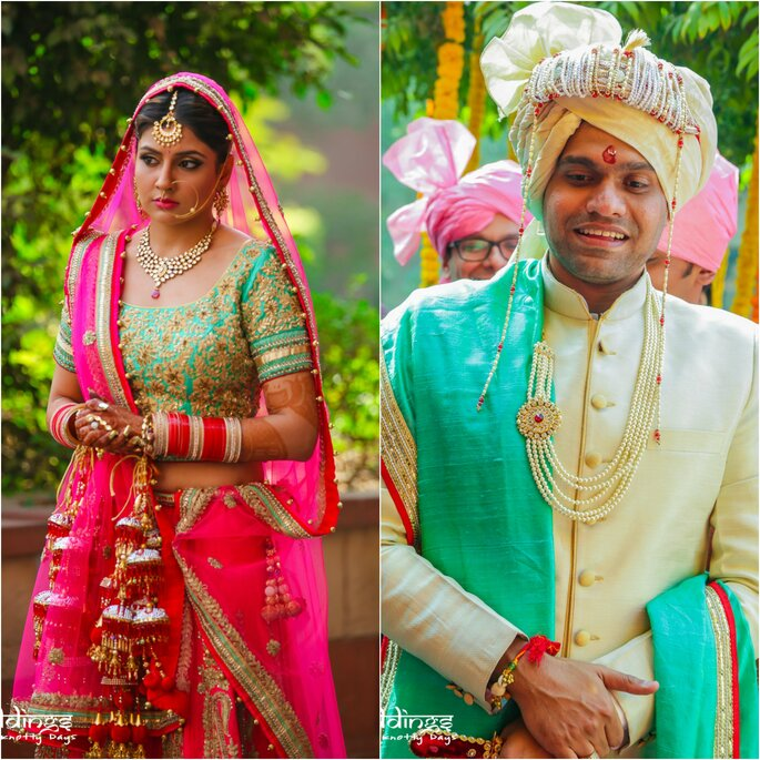Marriages Are Made In Heaven: Real Wedding Bhakti And Kanishka