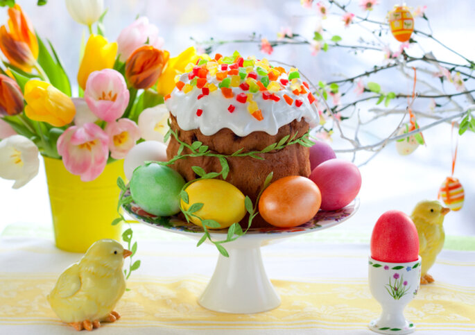 Ostern am Candy Table – Foto: shutterstock