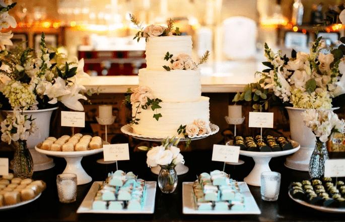 decorazione di nozze rustico