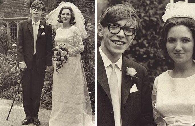 Courtesy: News and Protagonists: Stephen and Jane Wilde Hawking at their wedding