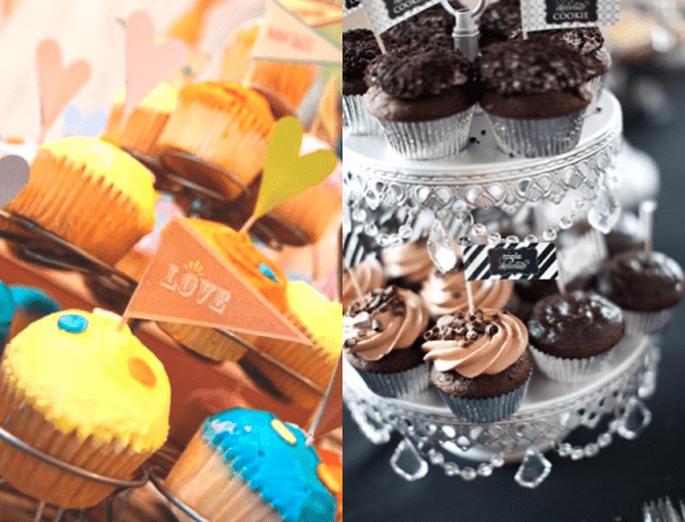 Elígelos con sabores, toppings y diseños diferentes - Foto Lisa Hessel Photography y Julia Davis