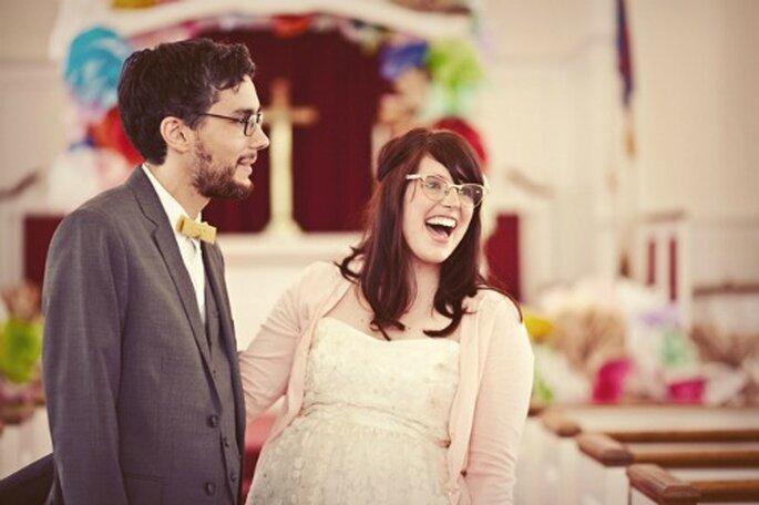 okulary na ślubie