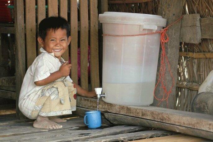 Première ONG de parrainage d'enfants au monde - Photo : Vision du Monde