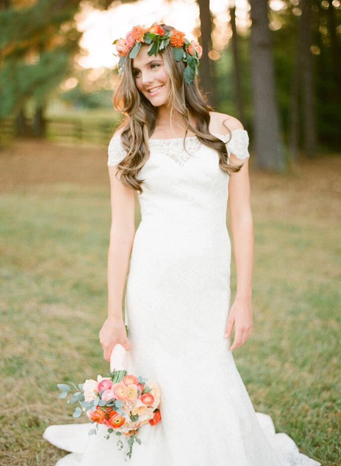 inspiration romantique pour mariage incroyable - Photo: Justin DeMutiis Photography