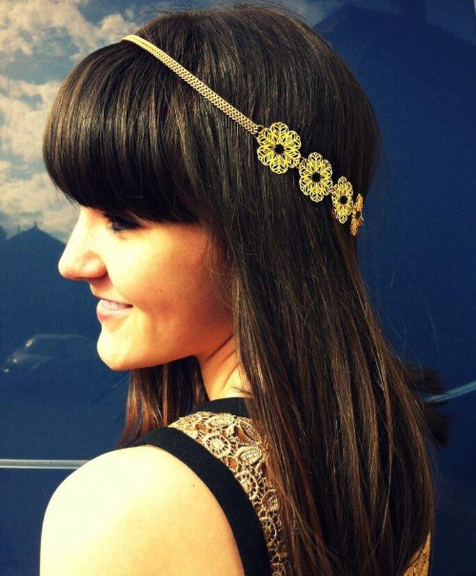 "Headband doré ""Marianne"" - cup-accessories"