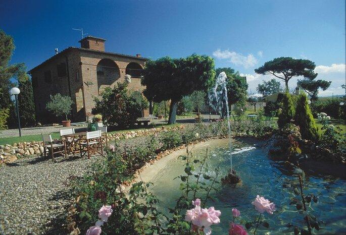 Foto via Relais Villa Petrischio