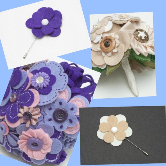 Diseños para novias atrevidas y clásicas. Fotos: B de Blanca