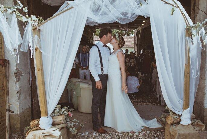 cérémonie laïque- mariage champêtre dans l'Eure-et-Loir