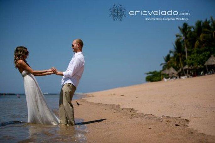 romantische Flitterwochen am Strand - Foto: http://www.ericvelado.com/