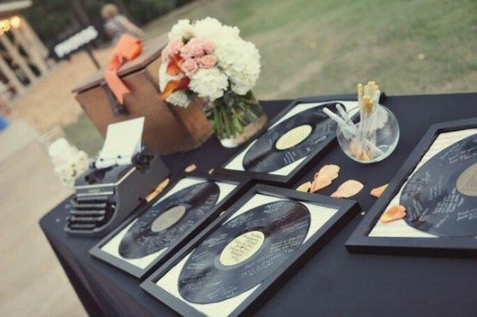 Musik-Motto für die Hochzeitsfeier – Foto: 2beabride