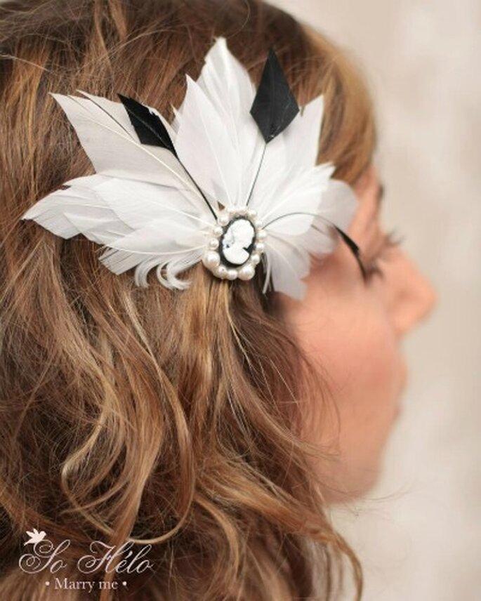 On craque pour les bijoux de cheveux ! Source : So Hélo