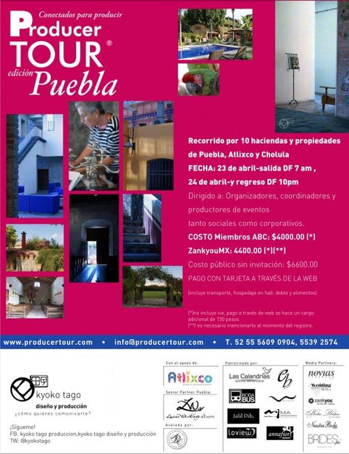 Los 10 mejores lugares de eventos en Puebla, Producer Tour