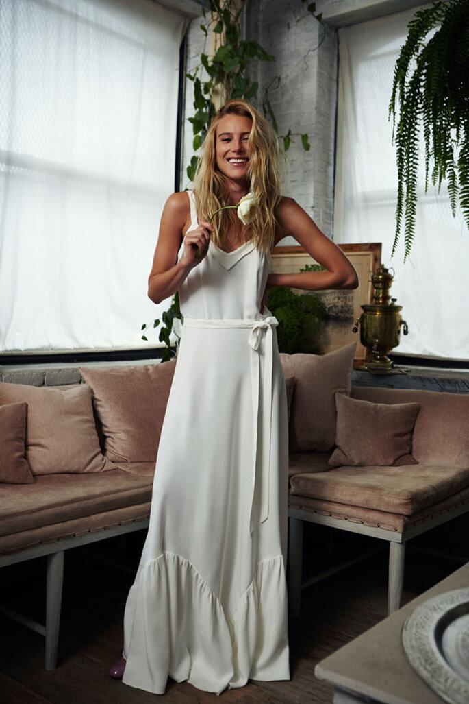 bohemia y urbana: así es la colección de vestidos de novia de