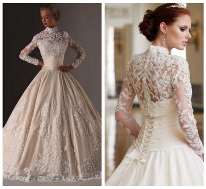Vestidos de novia estilo Kate Middleton