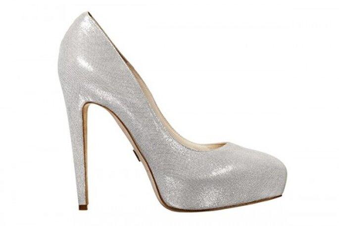 Zapatos brillantes para novias - Foto Brian Atwood