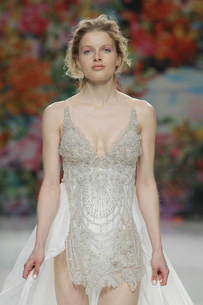 Foto: Galia Lahav vía Barcelona Bridal Week