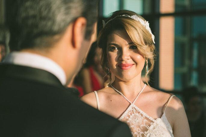 novia mirando al novio