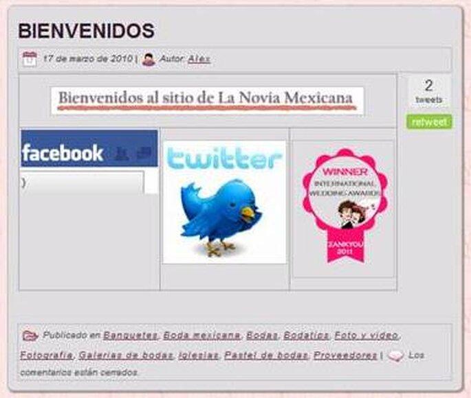 La Novia Mexicana ganó el premio